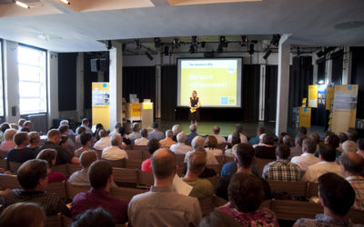 Zurück an der Uni: Die Event-Reihe Bau Akademie